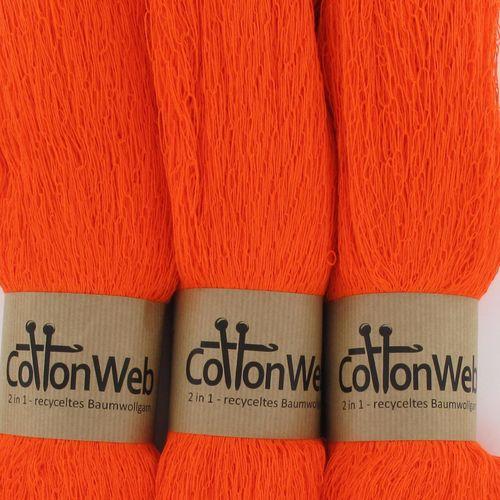 Next CottonWeb 200g Farbe 202 neonorange