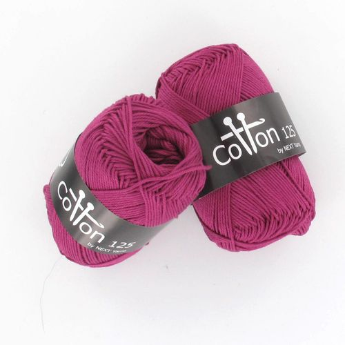 Next Yarns Cotton 125 Fb. B146 fuchsia