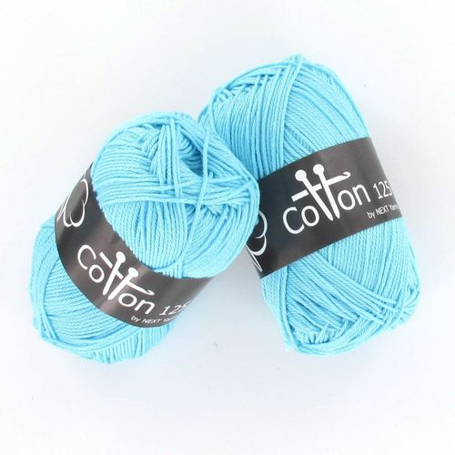 Next Yarns Cotton 125 Fb. B154 gletscher