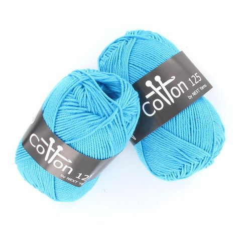 Next Yarns Cotton 125 Fb. B156 türkis