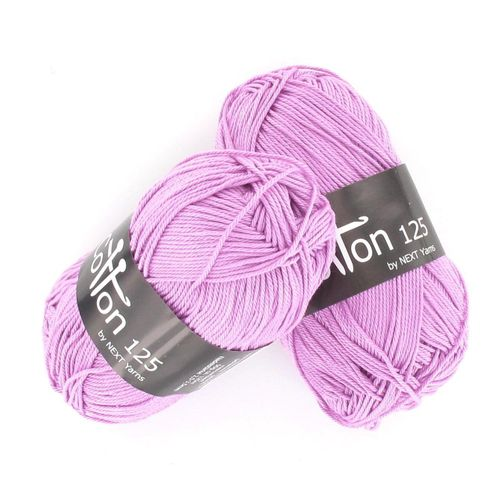 Next Yarns Cotton 125 Fb. B142 veilchen