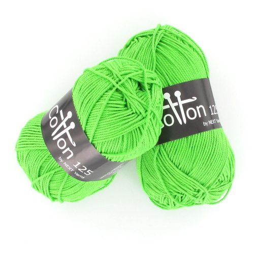 Next Yarns Cotton 125 Fb. B172 neongrün