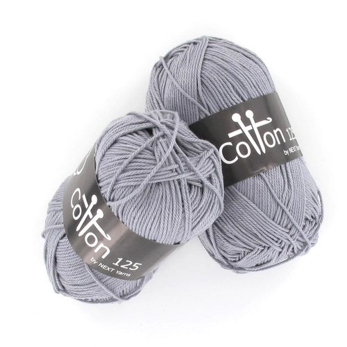 Next Yarns Cotton 125 Fb. B195 grau