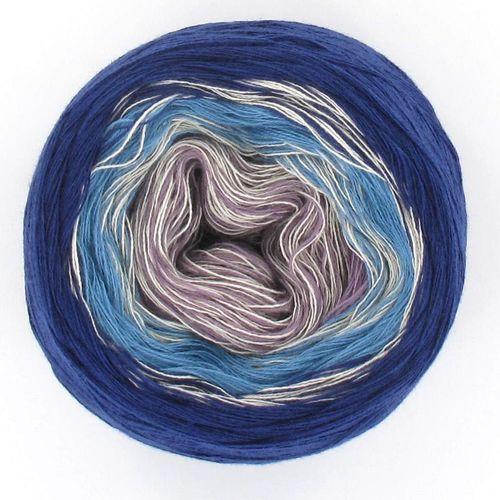 LoLa Farbverlaufsgarn Stripe milky blue