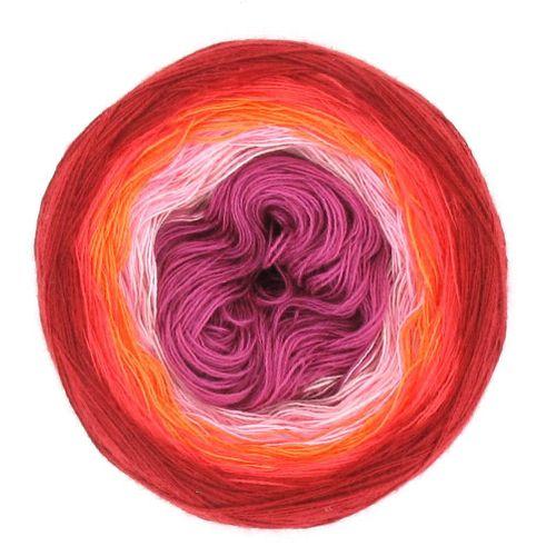 LoLa Farbverlaufsgarn Stripe valentine
