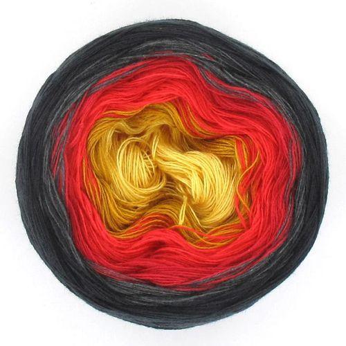 LoLa Farbverlaufsgarn Stripe vulkan