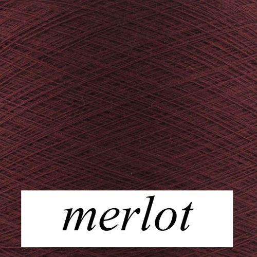 JoJo solo Sockengarn 50g handgewickelt Farbe merlot