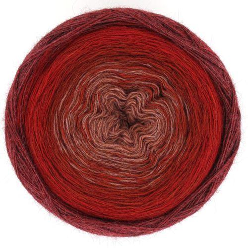 Maya Alpaca Wolle handgewickelt im Farbverlauf 912 1