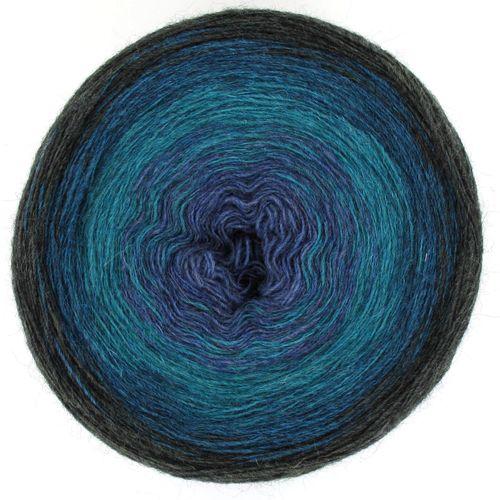 Maya Alpaca Wolle handgewickelt im Farbverlauf 916 1