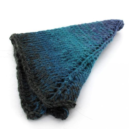 Maya Alpaca Wolle handgewickelt im Farbverlauf 916 2