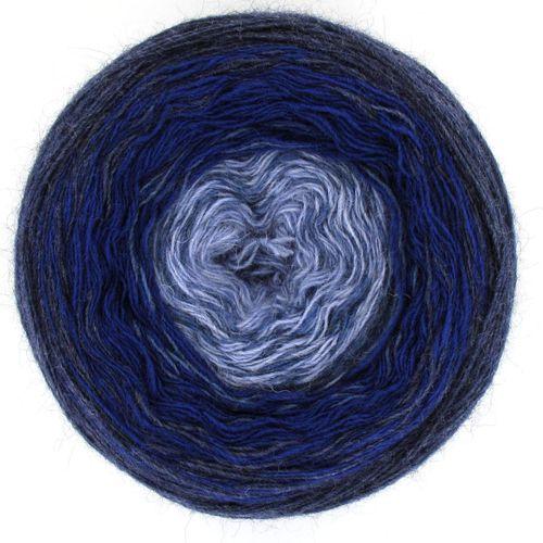 Maya Alpaca Wolle handgewickelt im Farbverlauf 917 1