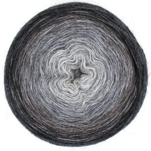 Maya Alpaca Wolle handgewickelt im Farbverlauf 919 1