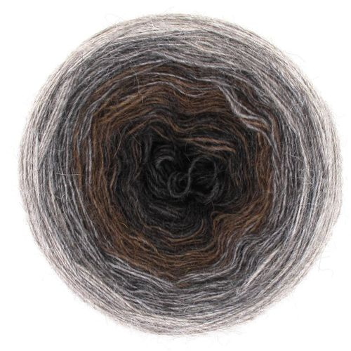 Maya Alpaca Wolle handgewickelt im Farbverlauf 923 1
