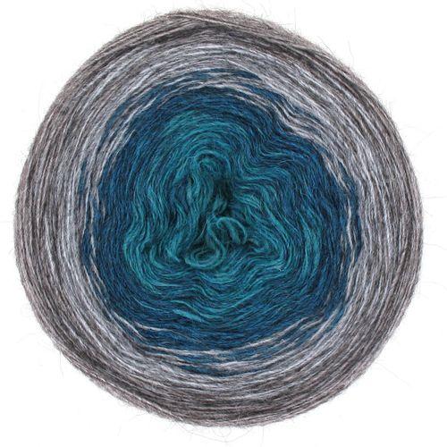 Maya Alpaca Wolle handgewickelt im Farbverlauf 930 1