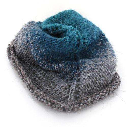 Maya Alpaca Wolle handgewickelt im Farbverlauf 930 3