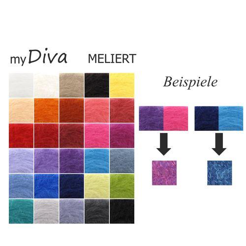 myDiva meliert 50g handgemacht für Sie