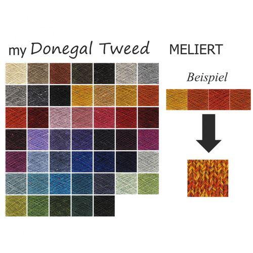 myDonegal Tweed Meliert 100g handgemacht für Sie
