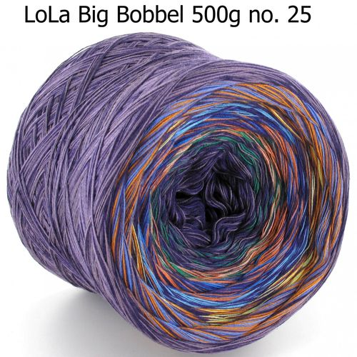 LoLa Big Bobbel 500g 4fach no. 25