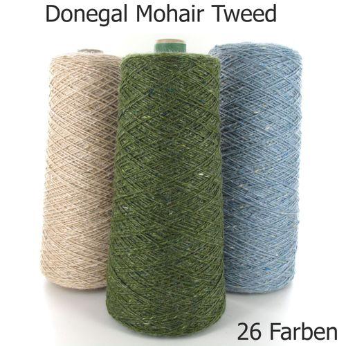 Next Yarns Donegal Mohair Tweed Konengarn