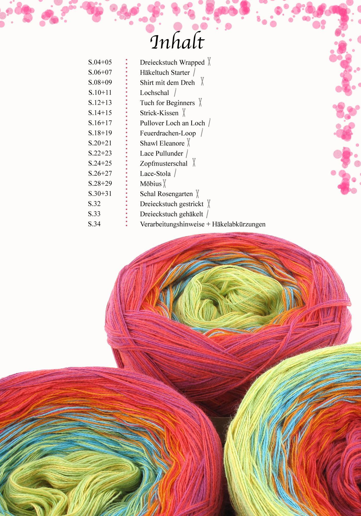 Nyp Buch Stricken Und Häkeln Mit Farbverlaufsgarnen Vol 1 Nadeln