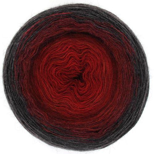 Maya Alpaca Wolle handgewickelt im Farbverlauf 931