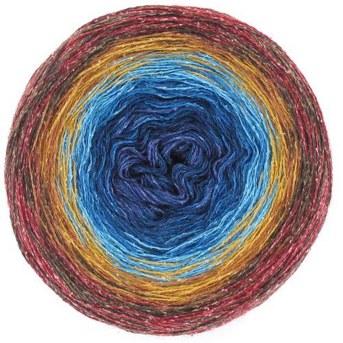 CoCo Farbverlauf Wolle Seide Fb. 739