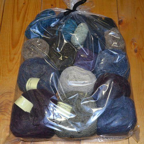 Überhang 1kg Donegal Farbverlauf Paket 927
