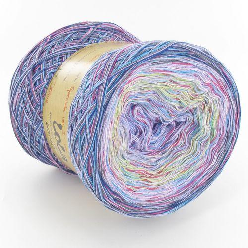 LoLa 60/40 Farbverlaufsgarn Speckle vol. 3: pastell lavendel