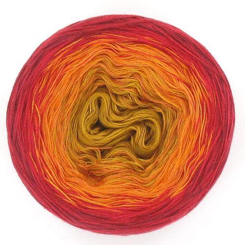 LoLa Farbverlaufswolle Classic Bobbel 1000+1 Nacht Bazar
