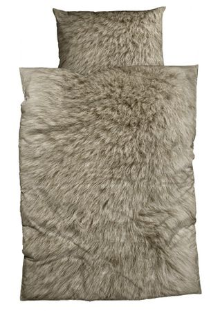 CASATEX Flanell Bettwäsche Animal Fur