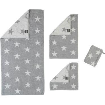 Cawö Handtücher Stars silber 525 76 – Bild 1