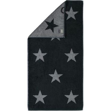 Cawö Handtücher Stars schwarz 524 / 97