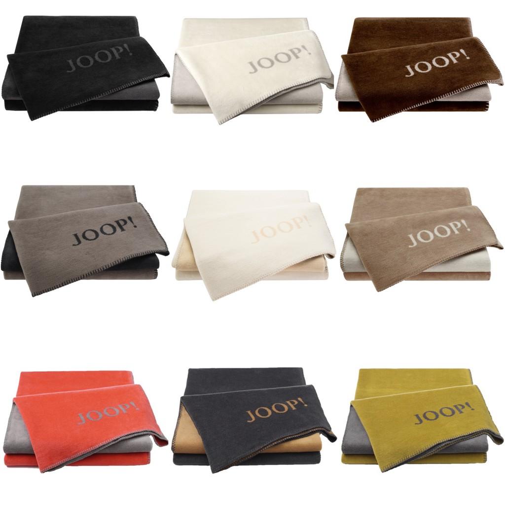 joop wohndecke kuscheldecke uni doubleface 150x200 cm. Black Bedroom Furniture Sets. Home Design Ideas