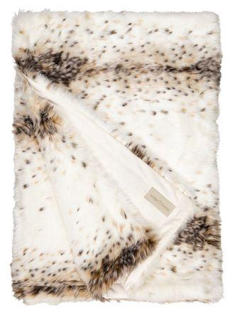 Winterhome Felldecke Lynx 140 x 200 cm – Bild 1