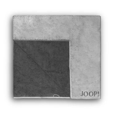 JOOP! Handtücher Elegance Doubleface hellgrau dunkelgrau 1620 77 – Bild 6