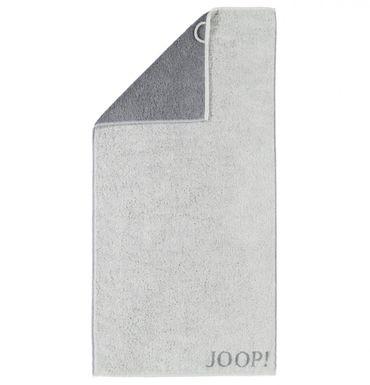 JOOP! Handtücher Elegance Doubleface hellgrau dunkelgrau 1620 77