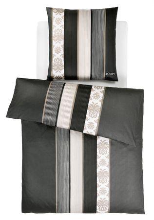 JOOP! Bettwäsche Ornament Stripes schwarz 4022 09 Mako Satin
