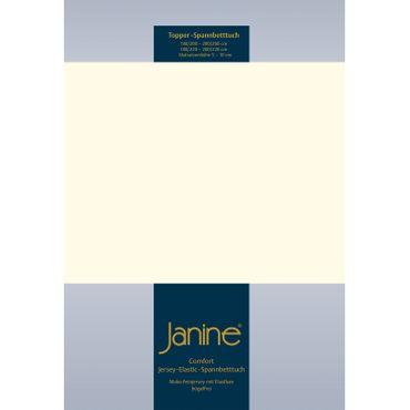Janine Topper Spannbettlaken Elastic 5001 – Bild 12