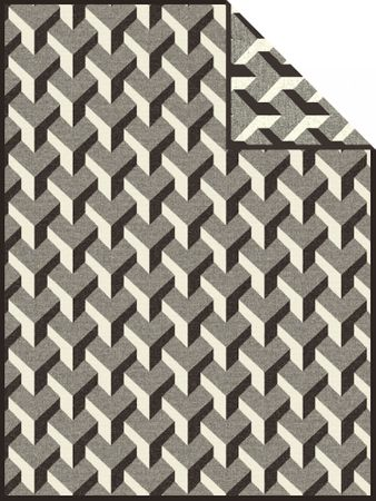 Ibena Kuscheldecke Jacquard Göteborg 1031-800 150x200 cm