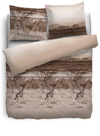 HnL Bettwäsche Pure Cotton Gap taupe Renforcé – Bild 1
