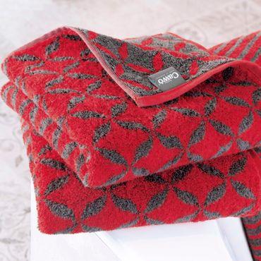 Cawö Handtücher Shades Ornament 597 - 27 rot – Bild 2