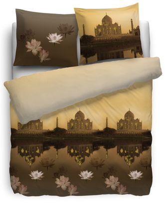 HnL Bettwäsche Taj Mahal multi Satin – Bild 1