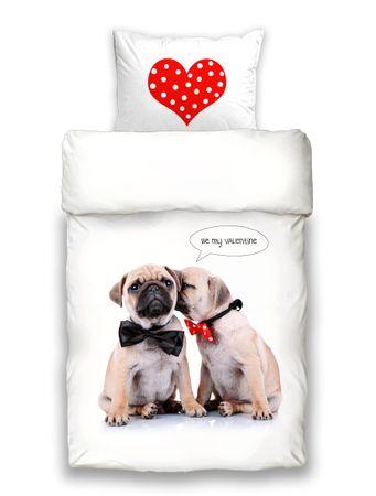 Schwanberg Bettwäsche Valentine Animal Renforcé