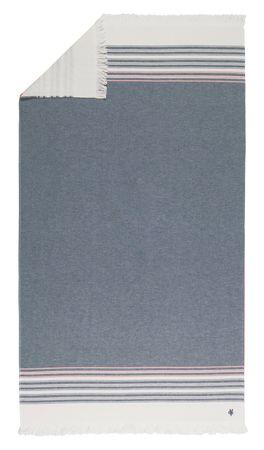 Marc O'Polo Strandtuch Navia Hammam dark blue 100x180 cm