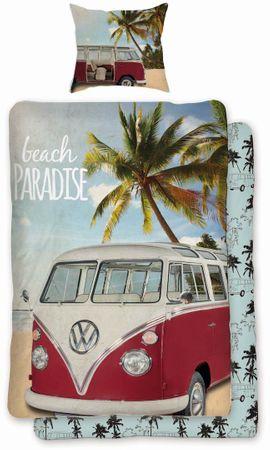 Volkswagen Bettwäsche VW Bulli T1 beach Paradise Renforcé