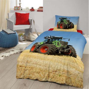 Good Morning! Bettwäsche 4208 Tractor Bunt – Bild 2