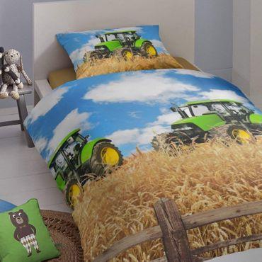 Good Morning! Bettwäsche 5604 Farmer multi Baumwolle – Bild 5