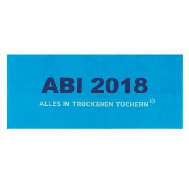 Egeria ABI 2018 Strandlaken Strandtuch blau 75x180 cm – Bild 1