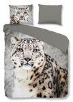 good morning Bettwäsche 2032 Snow Leopard grey Renforcé