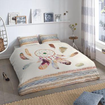 good morning! Bettwäsche 5554 Feathers sand Baumwolle – Bild 2